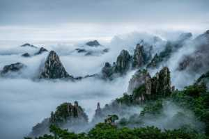 PhotoVivo Gold Medal - Ping Wang (China)  Misty Mountains
