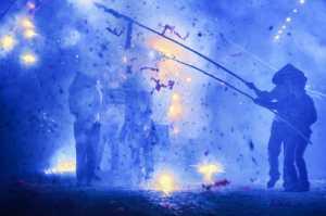 ICPE Gold Medal - Zhihui Li (China)  Blow Up Buddha With Firecrackers
