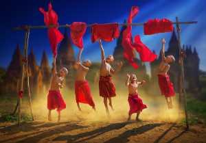 PhotoVivo Honor Mention - Arnaldo Paulo Che (Hong Kong)  Happy Little Monk 1