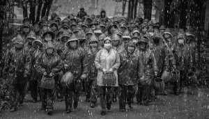 Golden Dragon Photo Award - Senliang Li (China) - Tea Picking Girl In The Rain 02