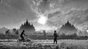 PhotoVivo Honor Mention e-certificate - Wee Lai (Malaysia)  Prambanan,Yogyakarta Morning View