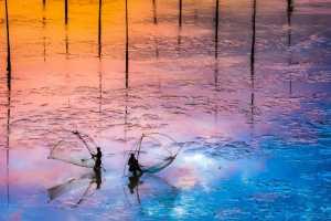 APAS Gold Medal - Zenghua Liu (China)  Fishing In The Mud 7