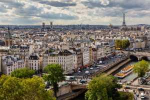 PhotoVivo Honor Mention e-certificate - Donald Dedonato (USA)  Paris From Notre-Dame