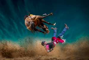 PhotoVivo Honor Mention e-certificate - Yongxiong Ling (Australia)  Rodeo Open  20