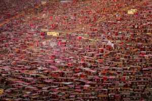 PhotoVivo Gold Medal - Ping Xu (China)  Red And Yellow House