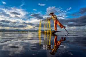 ICPE Gold Medal - Hein Htet (Singapore)  Inle Fisherman 07