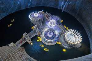 ICPE Gold Medal - Mihai Romeo Bogdan (Romania)  Turda Salt Mine