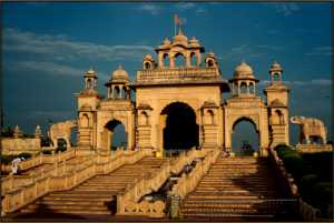 PhotoVivo Honor Mention e-certificate - Suniel Marathe (India)  Entry Gate At Anand Sagar