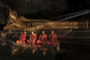 PhotoVivo Gold Medal - Hong Sang Woo (Malaysia)  Sleeping Buddhist Image