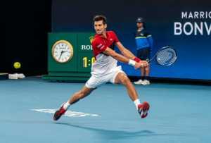 Circuit Merit Award e-certificate - Kerry Boytell (Australia)  Novak Djokovic