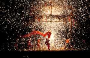PhotoVivo Gold Medal - Penglin Li (China)  Red Dragon Dancing In Sparks