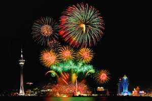 PhotoVivo Honor Mention e-certificate - Chan Seng Tang (Macau)  Firework Festival 4