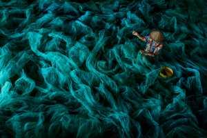 ICPE Gold Medal - Binyuan Li (China)  Repair Fishing Net