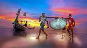 PhotoVivo Gold Medal - Tat Seng Ong (Malaysia)  Bangla Fisherman