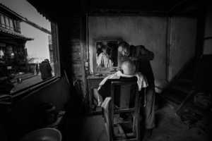 ICPE Gold Medal - Huifen Wang (China)  Barbershop In An Old Town