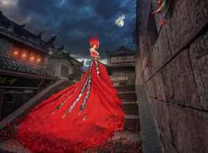 Circuit Merit Award e-certificate - Yipei Hu (China)  Miao Zhai Red Dress
