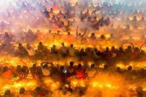 APAS Honor Mention - Sohel Parvez Haque (Bangladesh)  Prayer On Fire