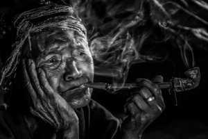 PhotoVivo Gold Medal - Mingzai Su (China)  Miss In The Smoke_2