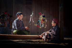 APAS Silver Medal - Kristanto Lie (Indonesia)  Playing Wayang
