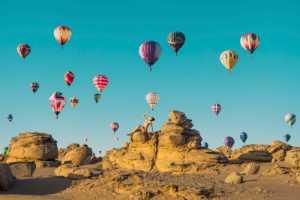 PhotoVivo Gold Medal - Chongfeng Wu (China)  Hot Air Balloons In The Sky