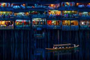 ICPE Gold Medal - Shenghua Yang (China)  Touring The Fascinating Stilt Houses