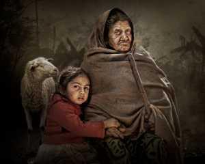 PhotoVivo Honor Mention e-certificate - Arnaldo Paulo Che (Hong Kong)  The Widow And The Orphan 4
