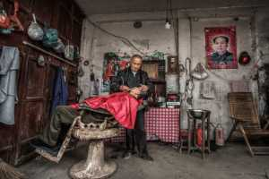 PhotoVivo Gold Medal - Xiaohua Lu (China)  Barber Shop
