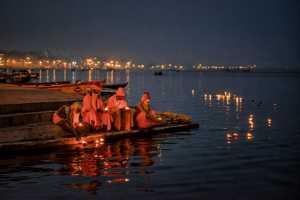 PhotoVivo Honor Mention e-certificate - Venkatesh Bs (India)  Monks At Evening Prayers