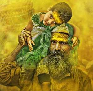 PhotoVivo Gold Medal - Suresh Bangera (India)  Secured Hands
