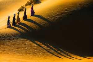 PhotoVivo Gold Medal - Zenghua Liu (China)  Beauties In Desert 1
