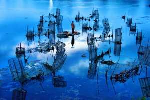 PhotoVivo Gold Medal - Tong Hu (China)  The Dawn Of The Water