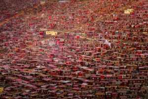 PhotoVivo Gold Medal - Ping Xu (China)  Red Huts Of Buddha Country