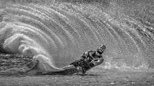 PhotoVivo Gold Medal - Katherine Wong (Canada)  Water Skiing