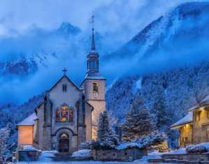 Circuit Merit Award e-certificate - Betty Chan (Canada)  A Church In Chamonix