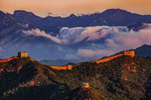 PhotoVivo Honor Mention e-certificate - Aimin Zhu (China)  Golden Great Wall