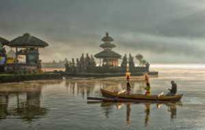 PhotoVivo Honor Mention e-certificate - Kim-Hock Tan (Singapore)  Lake Bratan - Offering
