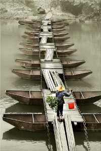 ICPE Honor Mention E-Certificate - Ruiyuan Chen (China)  Pontoon Bridge