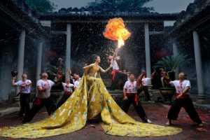 Circuit Merit Award e-certificate - Yanben Feng (China)  Fire dragon and fashion