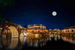 Circuit Merit Award e-certificate - Lixin Li (China)  Moonlight In Ancient Town