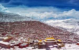 APU Honor Mention e-certificate - Xilian Li (China)  Village In The Snow