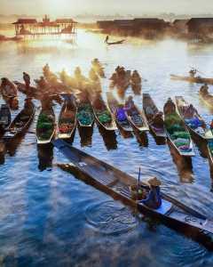 APU Honor Mention e-certificate - Hlaing Myint Min (Myanmar)  Inle Floating Market