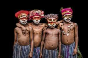 APAS Gold Medal - Yiliang Yang (China)  Tribal Kids6