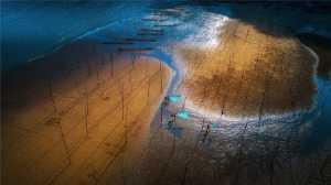 PhotoVivo Gold Medal - Bin Yu (China)  Twilight In Beach