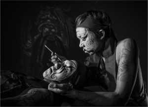 ICPE Gold Medal - Yi Wan (China)  Face Painting 11