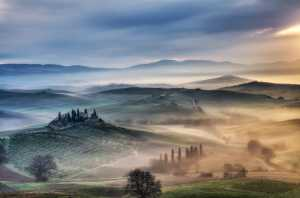 PhotoVivo Gold Medal - Michele Macinai (Italy)  Tuscan Golden Sunrise 6