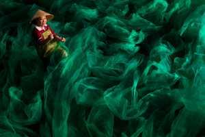 APAS Honor Mention e-certificate - Jijun Sun (China)  Fishermen Weaving Nets 2