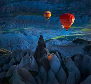 APU Gold Medal - Yi Wan (China)  Hot Air Balloon 1