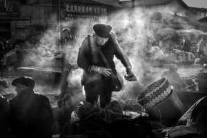 PhotoVivo Gold Medal - The Eng Loe Djatinegoro (Indonesia)  Smoke Survival Bw