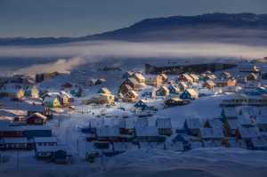 PhotoVivo Gold Medal - Min Tan (Malaysia)  Ilulissat Town Winter