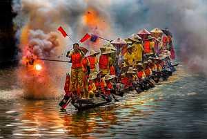 PhotoVivo Bronze Medal - Wendy Wai Man Lam (Hong Kong)  Fire Cracker Dragon Boat